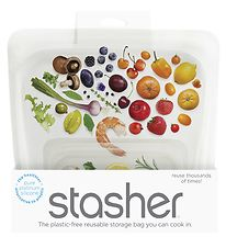 Stasher Storage Bag - Medium - 450 ml - Clear