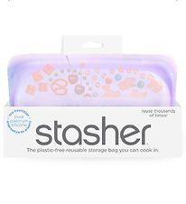 Stasher Storage Bag - Snack - 293,5 ml - Amethyst