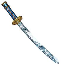 Liontouch Costume - Samurai Sword - Multicolored