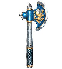 Liontouch Costume - Noble Knight Axe - Blue