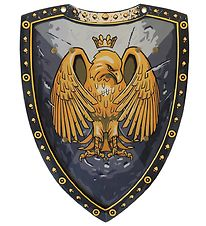 Liontouch Costume - Golden Eagle Shield - Grey