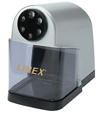 Linex Pencil Sharpener - Electric - Grey w. 6 Holes