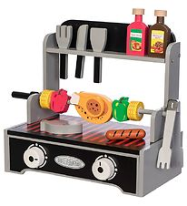 MaMaMeMo Play Food - Grill - Wood