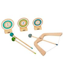 MaMaMeMo Bow and Arrow w. Targets - Wood