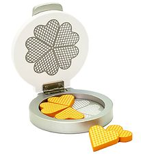 MaMaMeMo Play Food - Waffle Iron - Wood