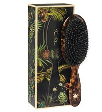 Fan Palm Hairbrush - Medium - Turtle