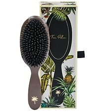 Fan Palm Hairbrush - Medium - Mink