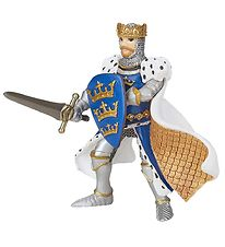Papo Knight - King Arthur - Blue - H: 9 cm