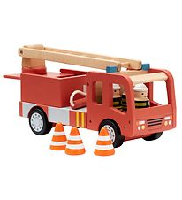 Kids Concept Fire Truck - Aiden - Red w. Firefighters