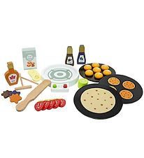 MaMaMeMo Play Food - Pancake Maker - Wood