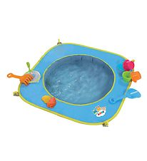 Ludi Beach Pool - 9 Parts - Blue w. Toys