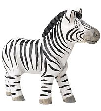 ferm Living Handmade Figurine - 13.5 cm - Striped Zebra