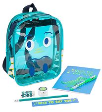 SunnyLife Preschool Backpack w. Content - School start - Dinosau