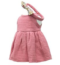 Mini Mommy Doll Clothing - 33-37 - Dress - Old Rose