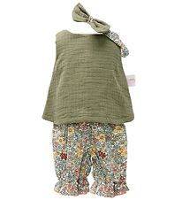 Mini Mommy Doll Clothing - 33-37 cm - Spencer set - Moss green