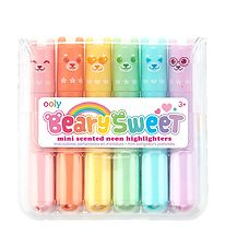 Ooly Highlighters w. Scent - Beary Sweet - 3 pcs