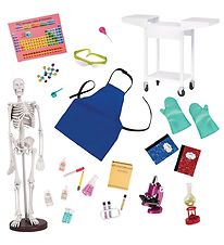 Our Generation Doll Accessories - 24 Parts - Laboratory