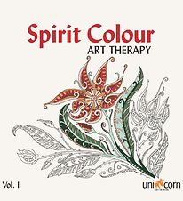 Mandalas Therapy Book - Spirit Colour - Vol. IN