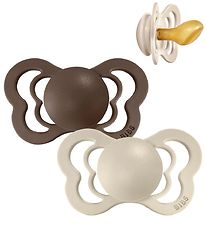 Bibs Couture Dummies - Size 2 - Natural Rubber - Vanilla/Mocha