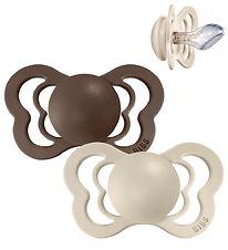 Bibs Couture Dummies - Size 1 - Silicone - Vanilla/Mocha