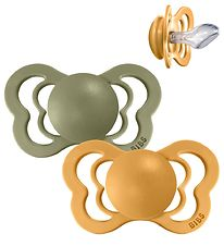 Bibs Couture Dummies - Size 2 - Silicone - Honey Bee/Olive