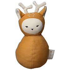 Fabelab Tumbling Toy - Roe Deer - 15X11 cm - Brown