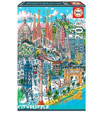 Educa City Puzzle - 200 Pieces - Barcelona
