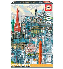 Educa Puzzle - City - 200 Pieces - Paris