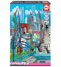 Educa City Puzzle - 200 Pieces - New York