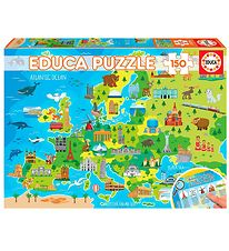Educa Puzzle - 150 Pieces - Map of Europe
