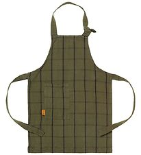 ferm Living Apron - Green / Black