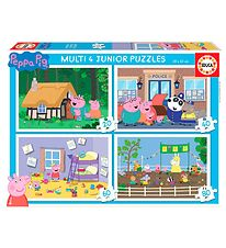 Educa Puzzle - 4 Different - Peppa Pig