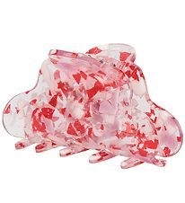Sui Ava Girl Hair Clip - Big - Luna Nougat - Red
