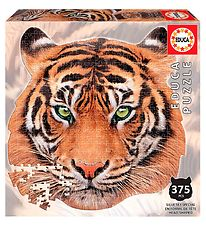 Educa Puzzle - 375 Pieces - Tiger Head