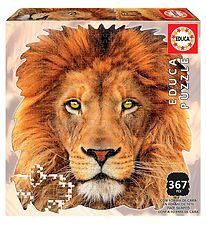 Educa Puzzle - 367 Pieces - Lion's Head