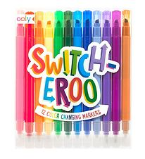 Ooly Colour Changing Markers - Switch-Eroo - 12 pcs.