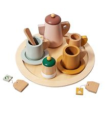 Petit Monkey Tea Set - 14 Parts - Wood