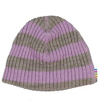 Joha Hat - Wool - Purple/Grey