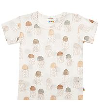 Joha T-shirt - Ivory w. Aquarius