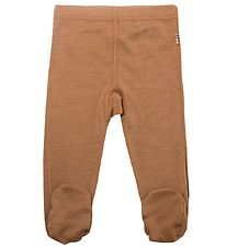 Joha Leggings w. Footies - Mocca