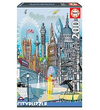 Educa Puzzles - 200 Pieces - London City Puzzles