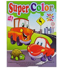 Playbox Colouring Book - 192 Pages - Cars