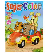 Playbox Colouring Book - 192 Pages - Animals