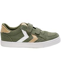 Hummel Shoes - Stadil Low Jr - Deep Lichen Green