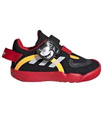 adidas Performance Shoes - Mickey Mouse - Black/Red w. Velcro