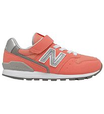 New Balance Shoes - NBJ Kids - Coral Pink/Silver
