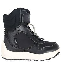 Woden Winter Boots - Malik Leather Boot - Black