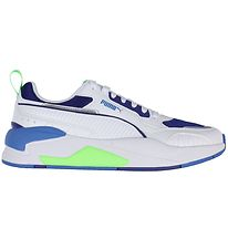 Puma Shoes - X-Ray 2 Square - White/Green/Blue