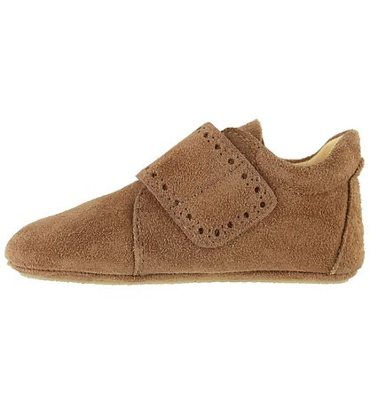 Angulus Soft Sole Suede Shoes - Tan
