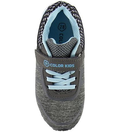 Color Kids Shoes - Kudu - Phantom w. Velcro